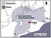 Germanisches Muschalkalk-Meer